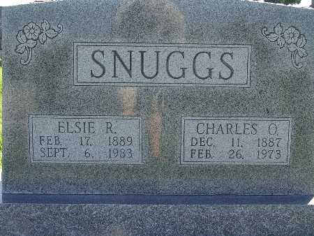 SNUGGS, ELSIE R - Warren County, Iowa | ELSIE R SNUGGS