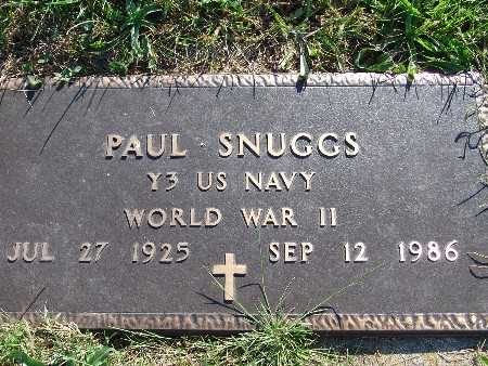 SNUGGS, PAUL - Warren County, Iowa | PAUL SNUGGS