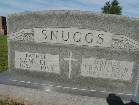 SNUGGS, FRANCES R. - Warren County, Iowa | FRANCES R. SNUGGS