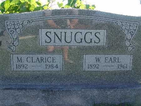 SNUGGS, W EARL - Warren County, Iowa | W EARL SNUGGS