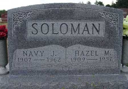 SOLOMAN, NAVY J. - Warren County, Iowa | NAVY J. SOLOMAN