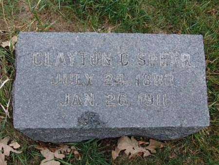 SPEAR, CLAYTON C. - Warren County, Iowa | CLAYTON C. SPEAR