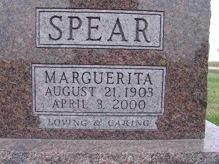 SPEAR, MARQUERITA - Warren County, Iowa | MARQUERITA SPEAR