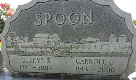 SPOON, GLADYS S. - Warren County, Iowa | GLADYS S. SPOON