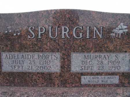PORTS SPURGIN, ADELAIDE - Warren County, Iowa | ADELAIDE PORTS SPURGIN