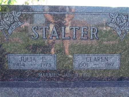 STALTER, JULIA E - Warren County, Iowa | JULIA E STALTER
