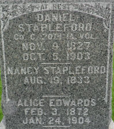 STAPLEFORD, DANIEL - Warren County, Iowa | DANIEL STAPLEFORD