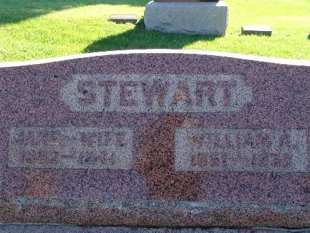 STEWART, WILLIAM A - Warren County, Iowa | WILLIAM A STEWART