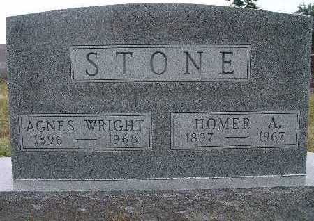 STONE, AGNES WRIGHT - Warren County, Iowa | AGNES WRIGHT STONE