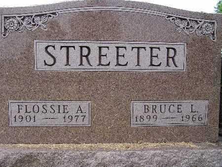 STREETER, FLOSSIE A. - Warren County, Iowa | FLOSSIE A. STREETER