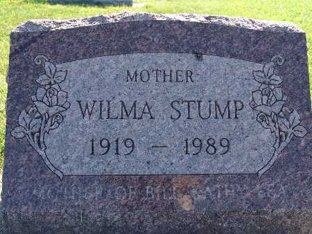 STUMP, WILMA - Warren County, Iowa | WILMA STUMP