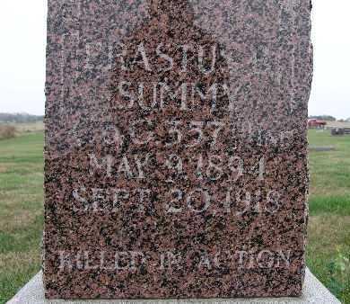 SUMMY, ERASTUS B. - Warren County, Iowa | ERASTUS B. SUMMY
