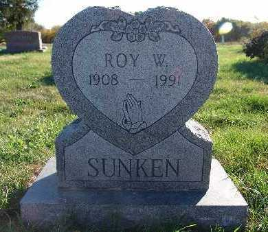 SUNKEN, ROY W. - Warren County, Iowa | ROY W. SUNKEN