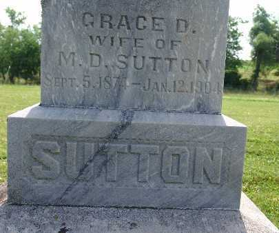 SUTTON, GRACE D. - Warren County, Iowa | GRACE D. SUTTON