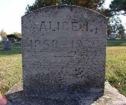 TARE, ALICE I. - Warren County, Iowa | ALICE I. TARE