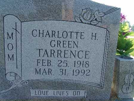 TARRENCE, CHARLOTTE H. GREEN - Warren County, Iowa | CHARLOTTE H. GREEN TARRENCE