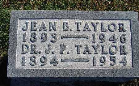 TAYLOR, J. P. - Warren County, Iowa | J. P. TAYLOR
