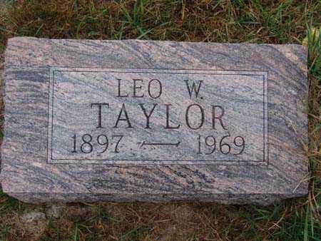 TAYLOR, LEO W. - Warren County, Iowa | LEO W. TAYLOR