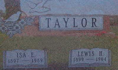 TAYLOR, ISA E - Warren County, Iowa | ISA E TAYLOR