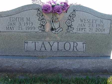 TAYLOR, EDITH M. - Warren County, Iowa | EDITH M. TAYLOR