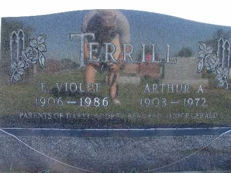 TERRILL, ARTHUR A. - Warren County, Iowa | ARTHUR A. TERRILL