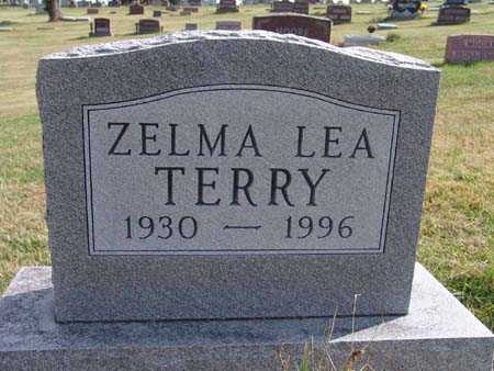 TERRY, ZELMA LEA - Warren County, Iowa | ZELMA LEA TERRY