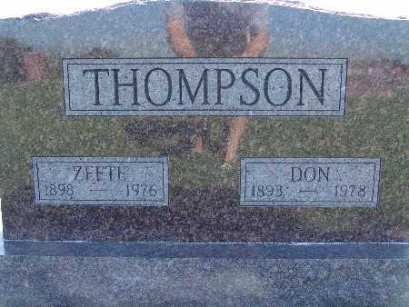 THOMPSON, DON - Warren County, Iowa | DON THOMPSON
