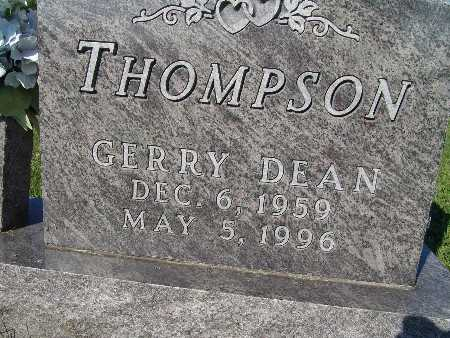 THOMPSON, GERRY DEAN - Warren County, Iowa | GERRY DEAN THOMPSON