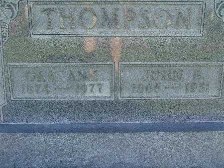 THOMPSON, ORA ANN - Warren County, Iowa | ORA ANN THOMPSON