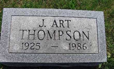 THOMPSON, J. ART - Warren County, Iowa | J. ART THOMPSON