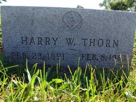 THORN, HARRY W. - Warren County, Iowa | HARRY W. THORN