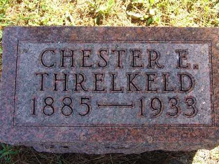 THRELKELD, CHESTER E - Warren County, Iowa | CHESTER E THRELKELD