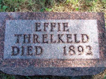 THRELKELD, EFFIE - Warren County, Iowa | EFFIE THRELKELD