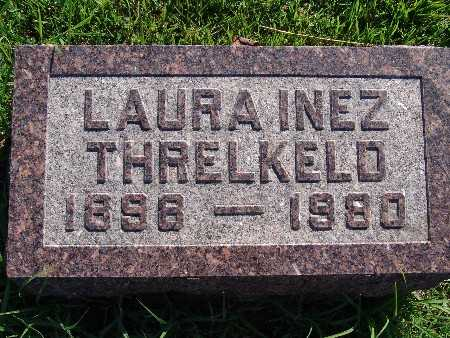 THRELKELD, LAURA INEZ - Warren County, Iowa | LAURA INEZ THRELKELD