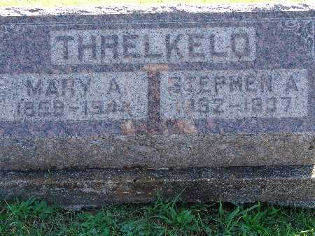 THRELKELD, MARY A - Warren County, Iowa | MARY A THRELKELD