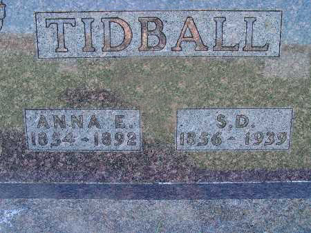 TIDBALL, S. D. - Warren County, Iowa | S. D. TIDBALL