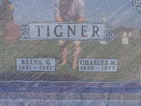 TIGNER, CHARLES M - Warren County, Iowa | CHARLES M TIGNER