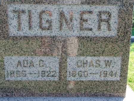 TIGNER, CHAS W - Warren County, Iowa | CHAS W TIGNER