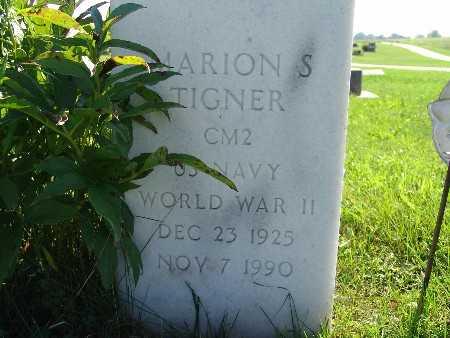 TIGNER, MARION S - Warren County, Iowa | MARION S TIGNER
