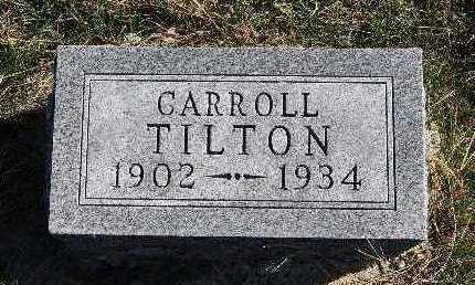 TILTON, CARROLL - Warren County, Iowa | CARROLL TILTON
