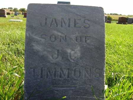 TIMMONS, JAMES - Warren County, Iowa | JAMES TIMMONS