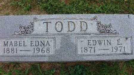 TODD, EDWIN E. - Warren County, Iowa | EDWIN E. TODD