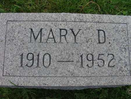 TOWN, MARY D. - Warren County, Iowa | MARY D. TOWN