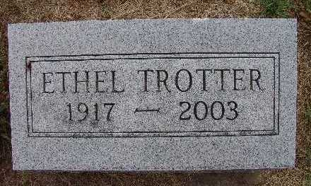 TROTTER, ETHEL - Warren County, Iowa | ETHEL TROTTER