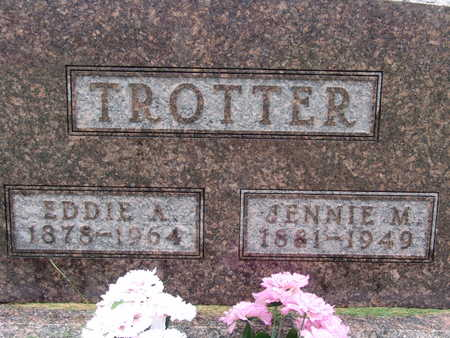 TROTTER, JENNIE M - Warren County, Iowa | JENNIE M TROTTER