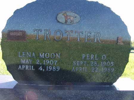 MOON TROTTER, LENA - Warren County, Iowa | LENA MOON TROTTER
