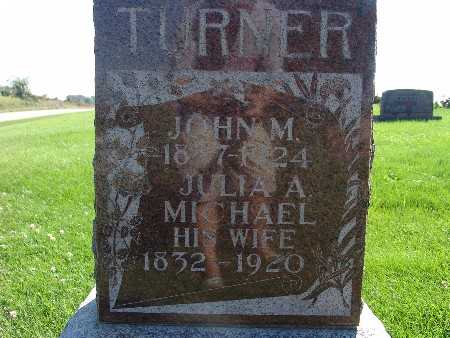 TURNER, JOHN M - Warren County, Iowa | JOHN M TURNER