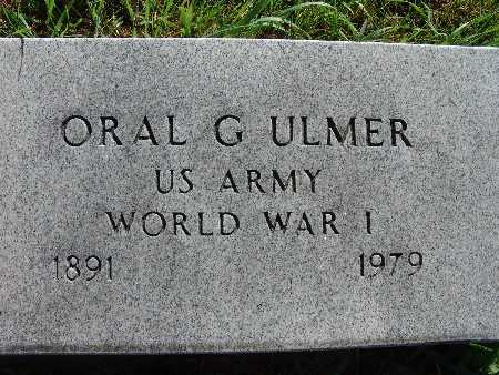 ULMER, ORAL G. - Warren County, Iowa | ORAL G. ULMER