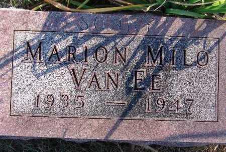 VAN EE, MARION MILO - Warren County, Iowa | MARION MILO VAN EE