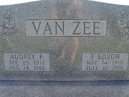 VAN ZEE, F EDSON - Warren County, Iowa | F EDSON VAN ZEE